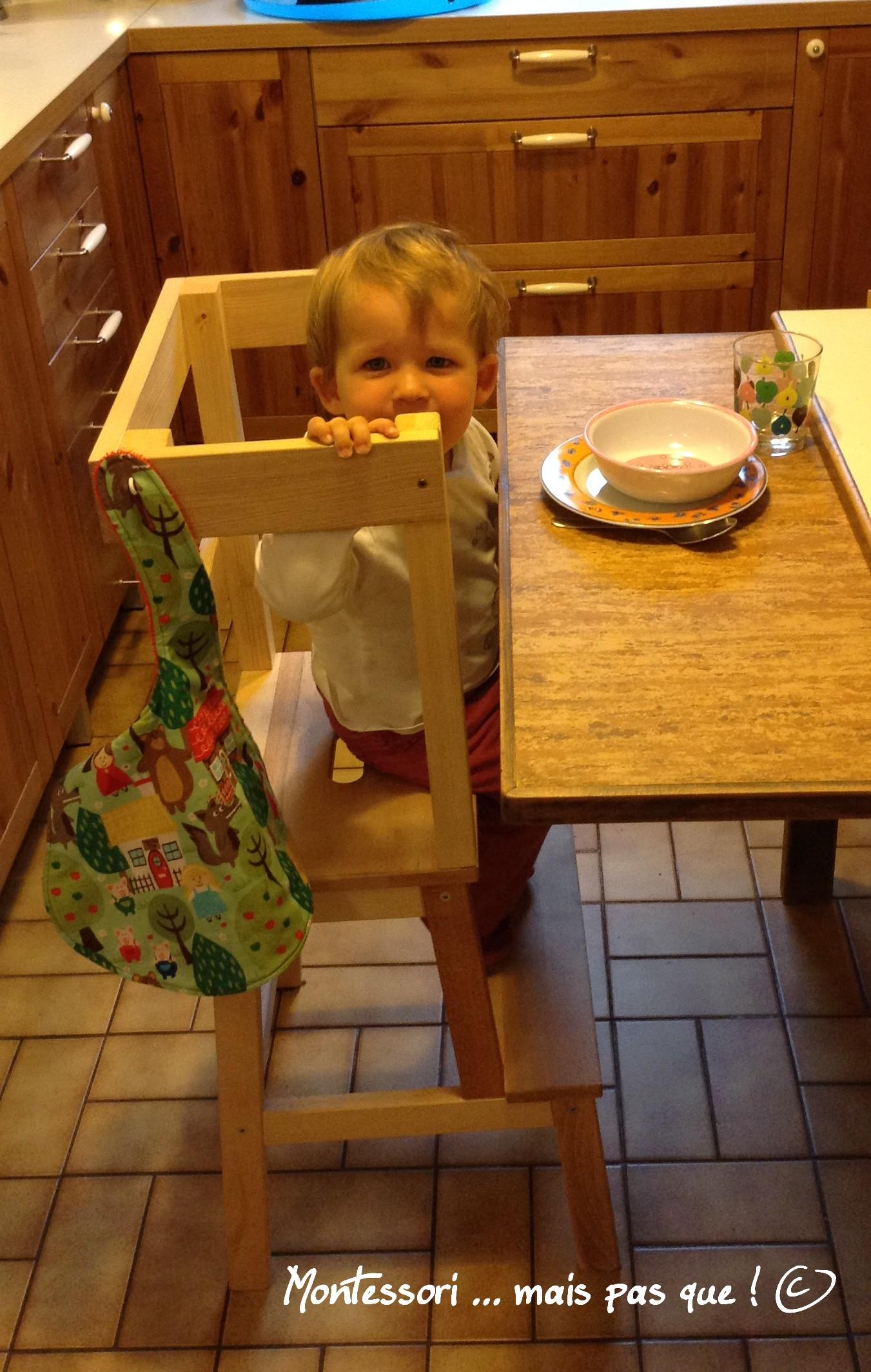Chaises Hautes Et Autonomie Montessori Mais Pas Que